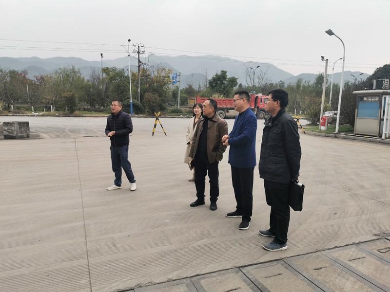 大格局 深思考 强管理——集团领导黄李强一行莅临调研建德公司安全生产工作